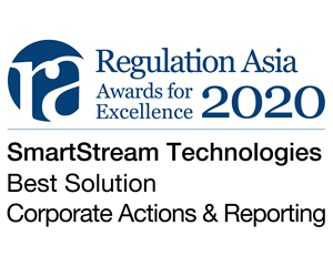 Award 2020: Regulation Asia - Corporate Actions
