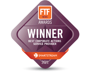 Award 2021: FTF Best Corporate Actions Service Provider