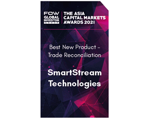 Award 2021: FOW Asia - Best Trade Reconciliations